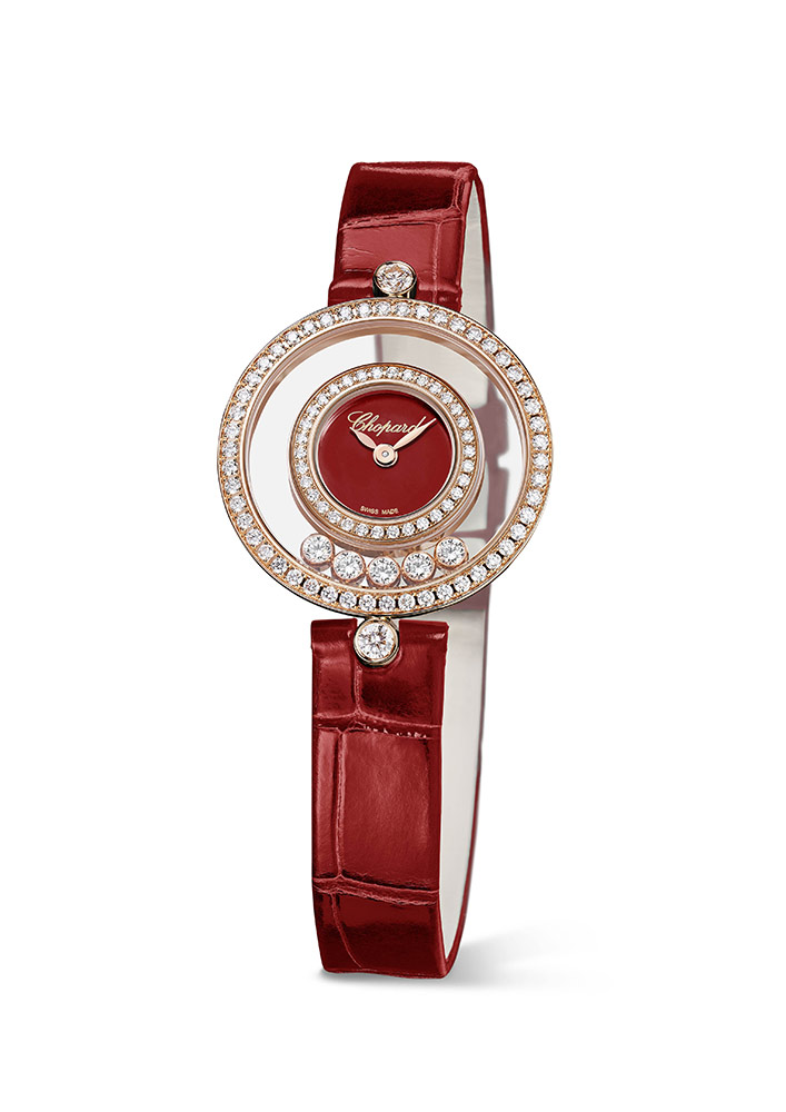 Happy Diamonds are unique watch and jewellery creations vividly illustrating the Chopard Artisans