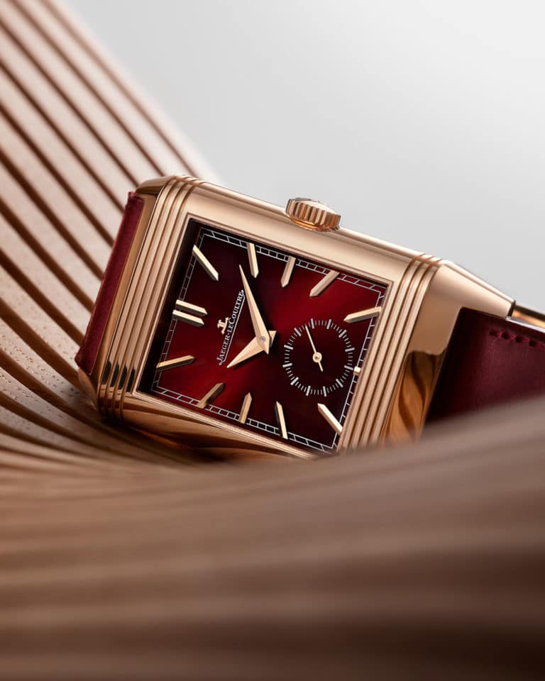 On the eve of the Reverso's 90th anniversary, Jaeger-LeCoultre unveils a special Tribute edition in burgundy red