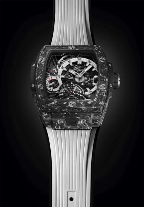 The Tourbillon with HUBLOT'S signature codes Spirit of Big Bang Tourbillon