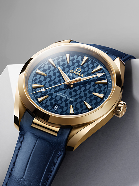 OMEGA Goes for Gold With a new Seamaster Aqua Terra Tokyo 2020